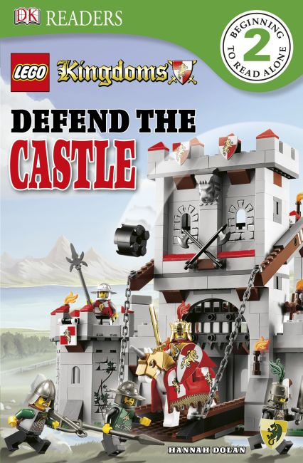 eBook cover of DK Readers L2: LEGO Kingdoms: Defend the Castle