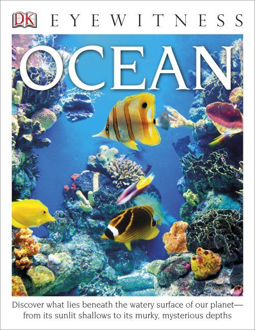 Hardback cover of DK Eyewitness Books: Ocean