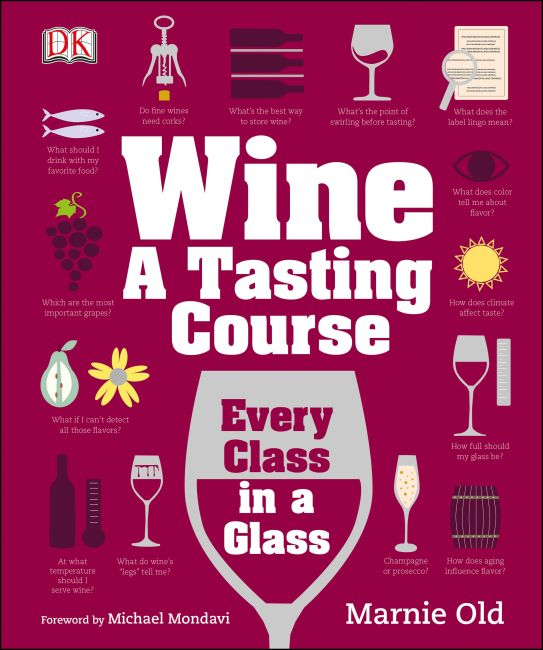 Hardback cover of Wine: A Tasting Course