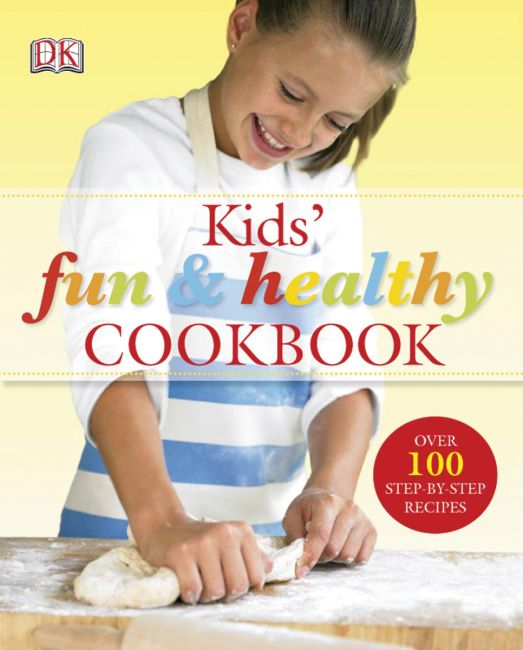 eBook cover of Kids' Fun and Healthy Cookbook