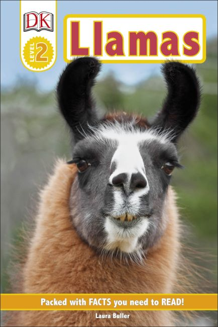 Hardback cover of Llamas
