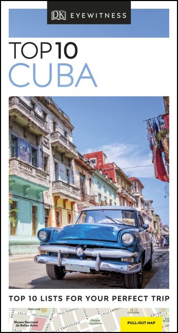 Paperback cover of DK Eyewitness Top 10 Cuba