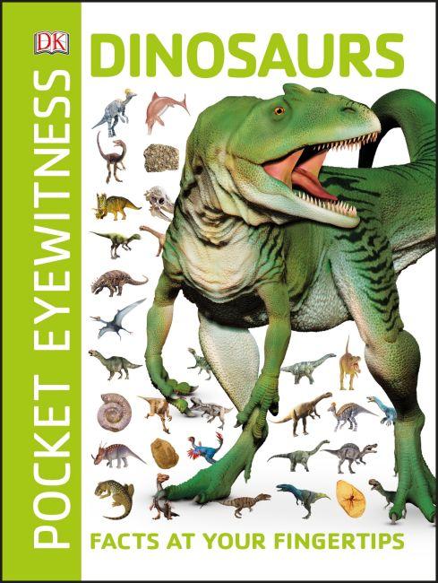 Paperback cover of Pocket Eyewitness Dinosaurs