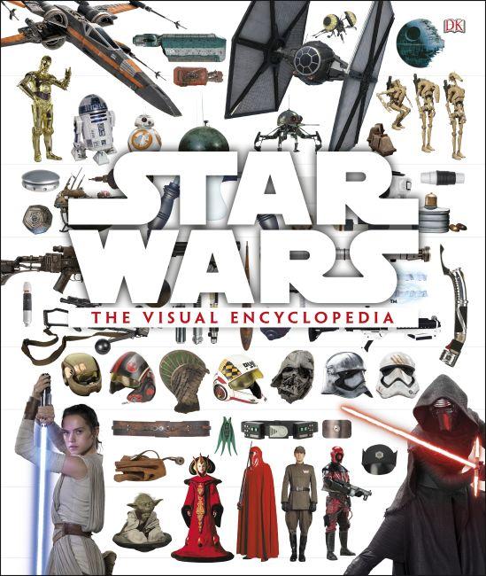 Hardback cover of Star Wars: The Visual Encyclopedia