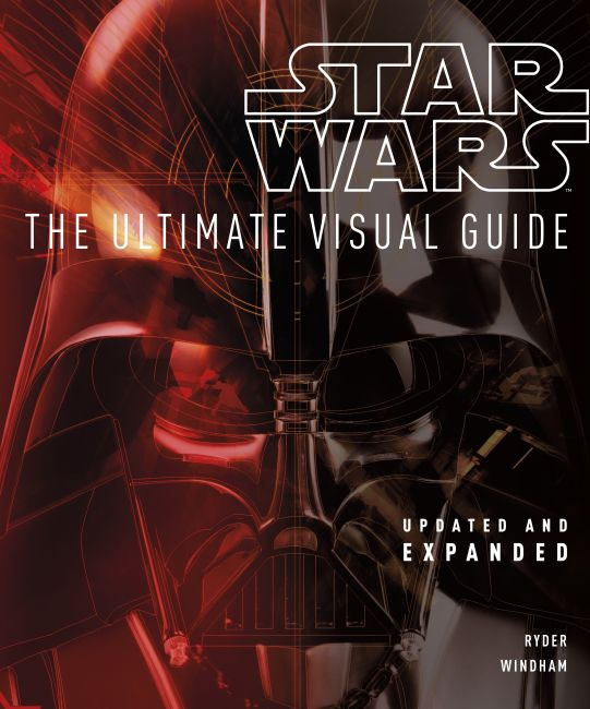 Hardback cover of Star Wars The Ultimate Visual Guide