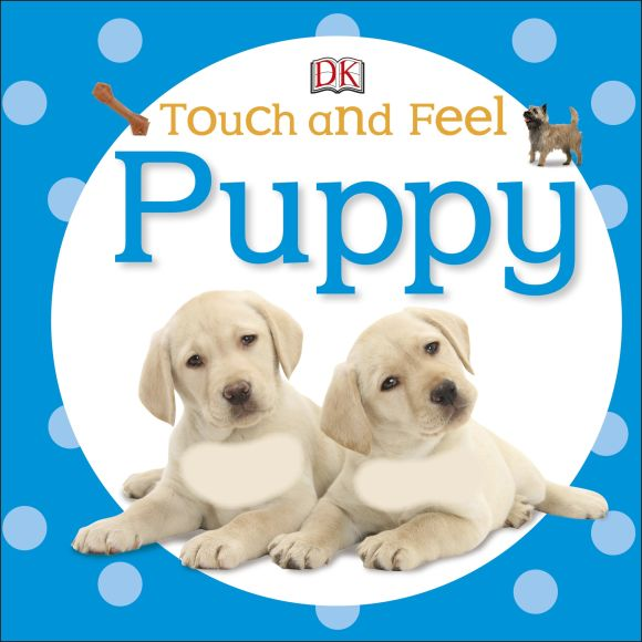 Board book cover of Touch and Feel: Puppy