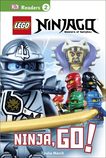 Hardback cover of DK Readers L2: LEGO® NINJAGO: Ninja, Go!