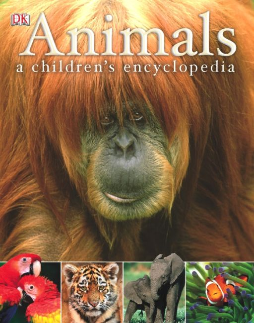 eBook cover of Animals A Children's Encyclopedia