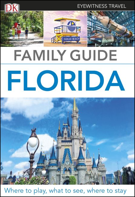 Flexibound cover of DK Eyewitness Family Guide Florida