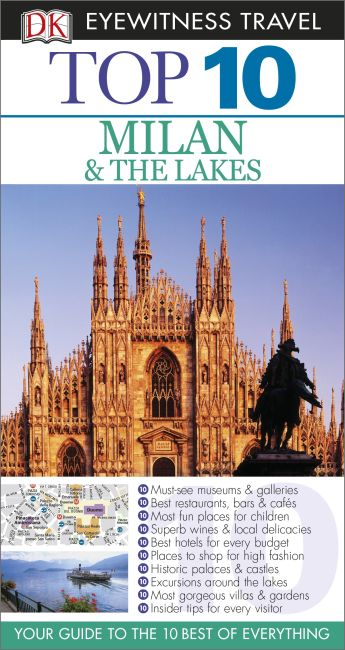 eBook cover of Top 10 Milan  &  The Lakes