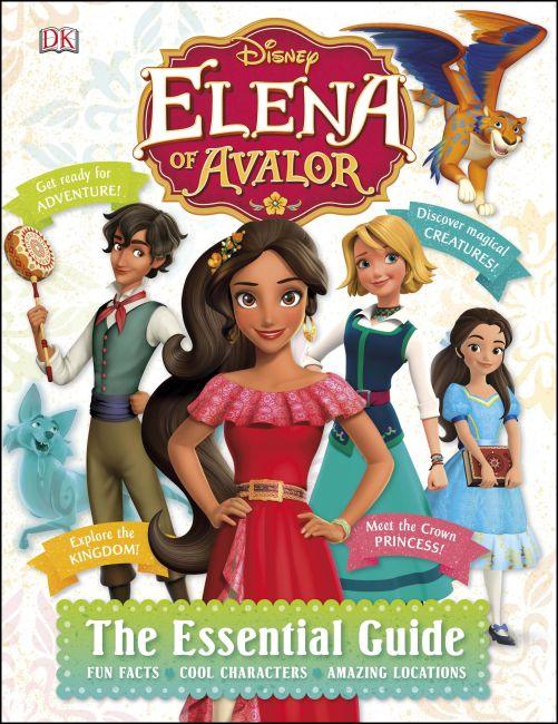 Hardback cover of Disney Elena of Avalor The Essential Guide
