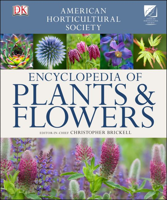 Hardback cover of American Horticultural Society Encyclopedia of Plants and Flowers