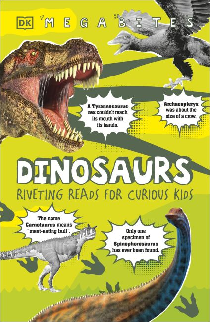Paperback cover of Dinosaurs