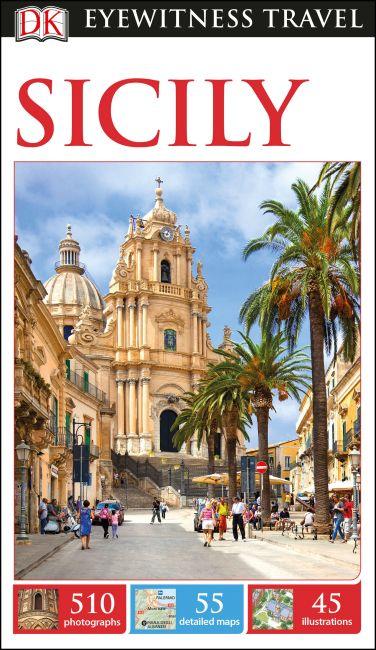 Flexibound cover of DK Eyewitness Travel Guide Sicily