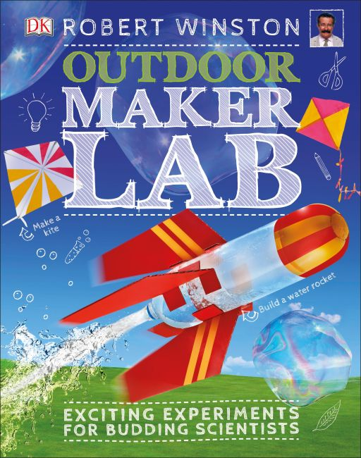 Hardback cover of Outdoor Maker Lab