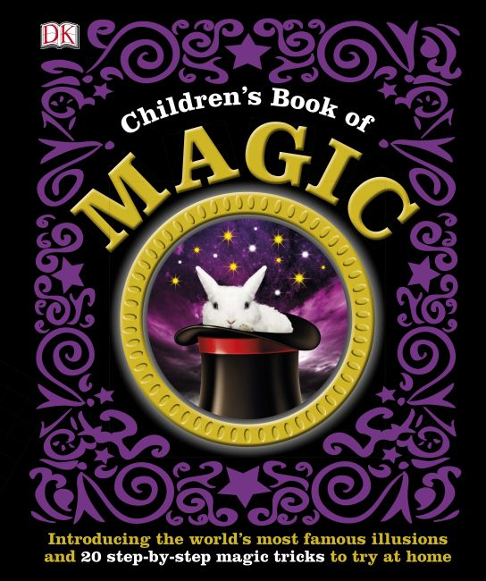 Hardback cover of Children's Book of Magic