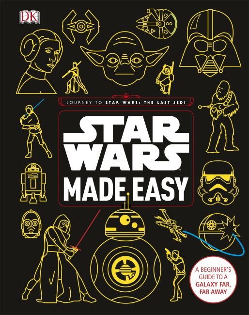 Hardback cover of Star Wars Made Easy