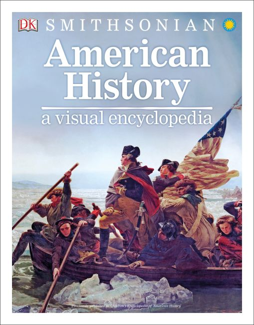Paperback cover of American History: A Visual Encyclopedia