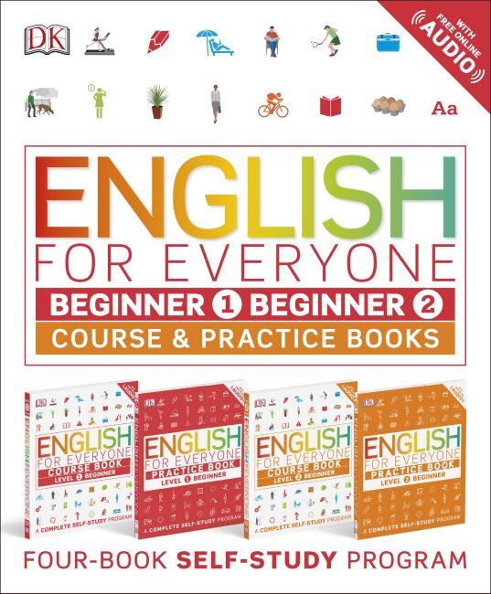 Slipcase of Editions cover of English for Everyone Slipcase: Beginner