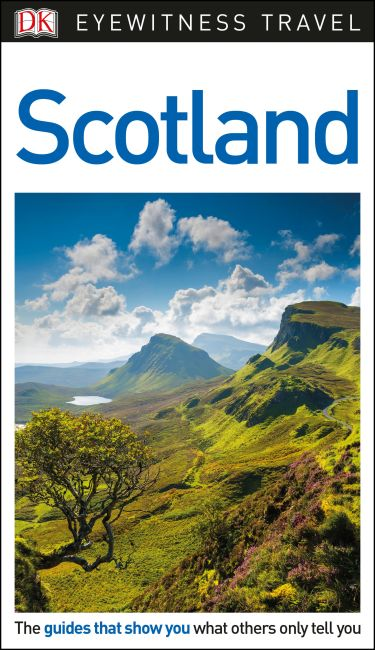 Paperback cover of DK Eyewitness Travel Guide Scotland
