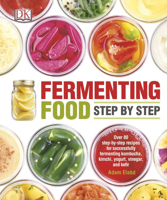 Paperback cover of Fermenting Food Step by Step