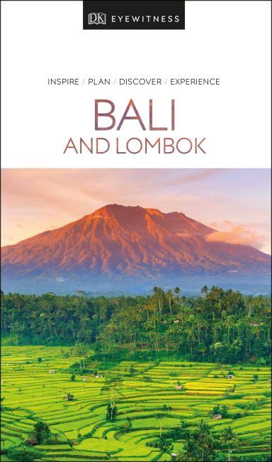 Paperback cover of DK Eyewitness Travel Guide Bali and Lombok