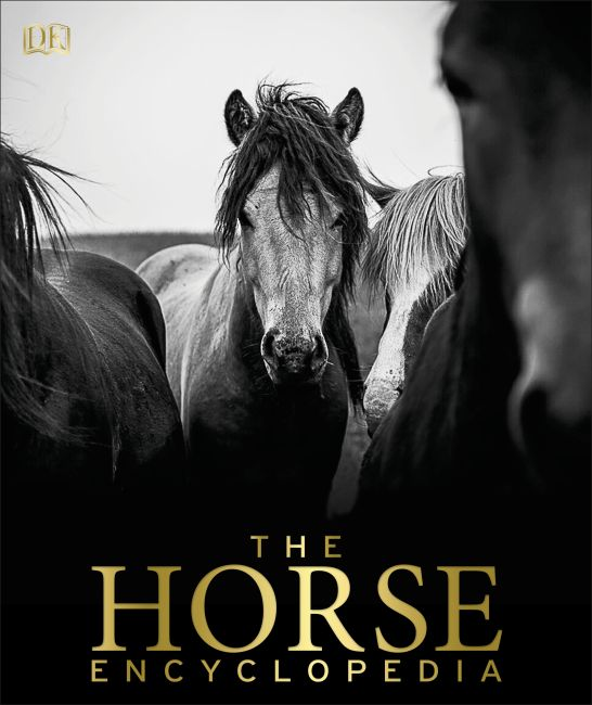 Hardback cover of The Horse Encyclopedia