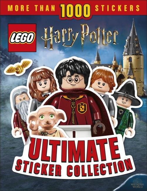 Paperback cover of LEGO Harry Potter Ultimate Sticker Collection