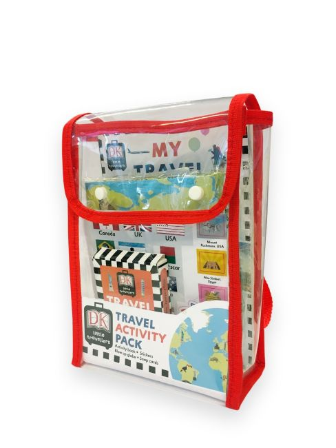 Mixed Media cover of Travel Activity Pack