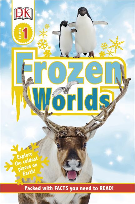 eBook cover of Frozen Worlds