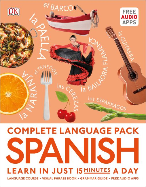 Paperback cover of Complete Language Pack Spanish
