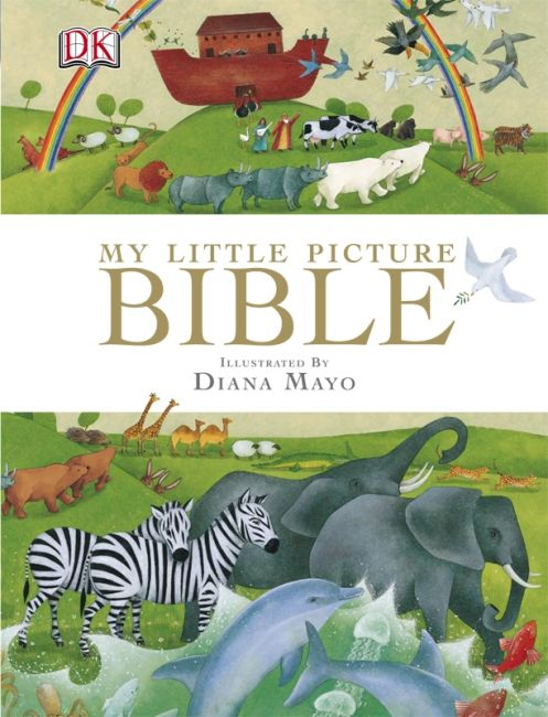 Hardback cover of My Little Picture Bible