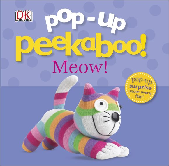 Board book cover of Pop-Up Peekaboo! Meow