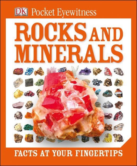 eBook cover of DK Pocket Eyewitness Rocks and Minerals