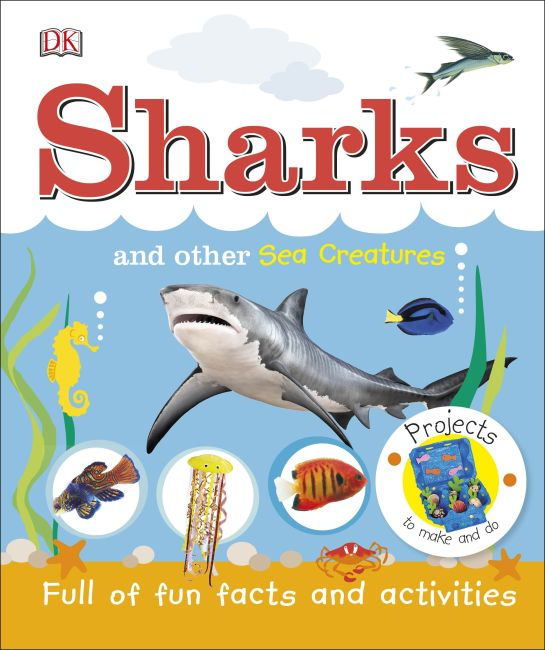 Hardback cover of Sharks and Other Sea Creatures
