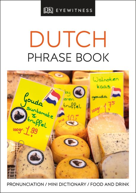 Paperback cover of Dutch Phrase Book