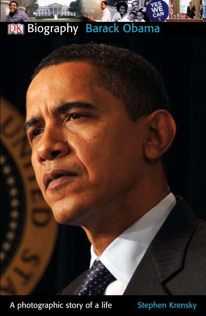 Paperback cover of DK Biography: Barack Obama