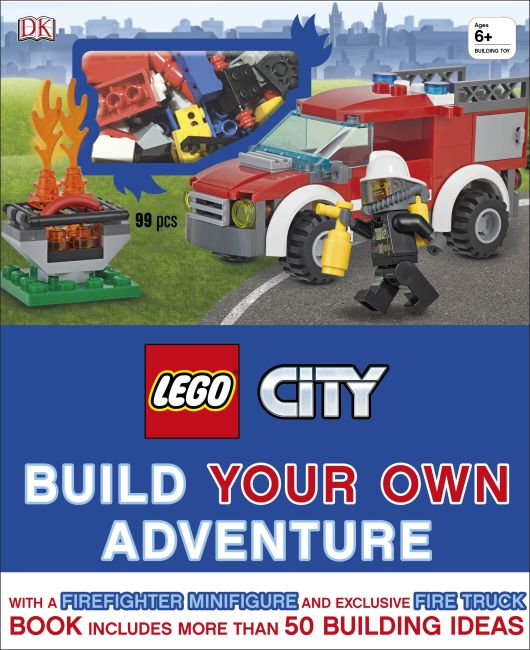 Hardback cover of LEGO® City Build Your Own Adventure