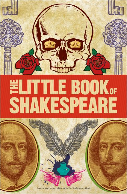 Paperback cover of The Little Book of Shakespeare
