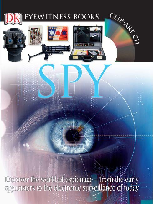 Hardback cover of DK Eyewitness Books: Spy