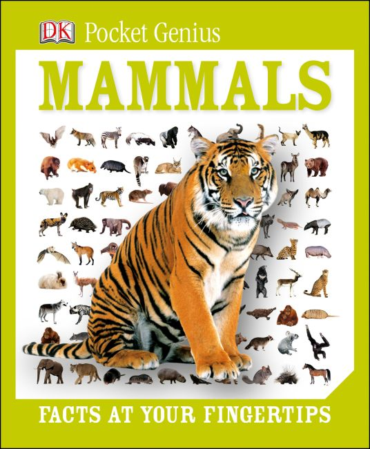Hardback cover of Pocket Genius: Mammals