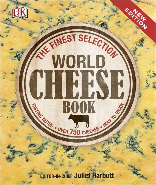 Hardback cover of World Cheese Book