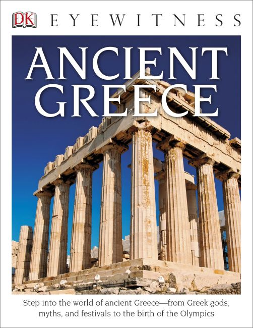 Hardback cover of DK Eyewitness Books: Ancient Greece