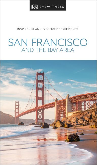 Paperback cover of DK Eyewitness Travel Guide San Francisco and the Bay Area