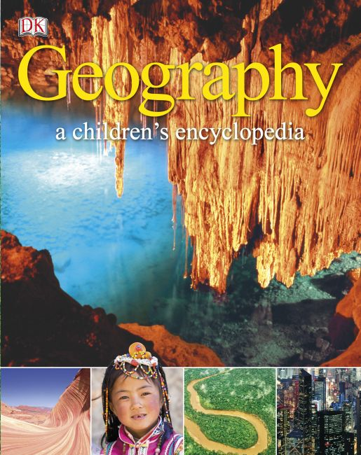 Hardback cover of Geography A Children's Encyclopedia