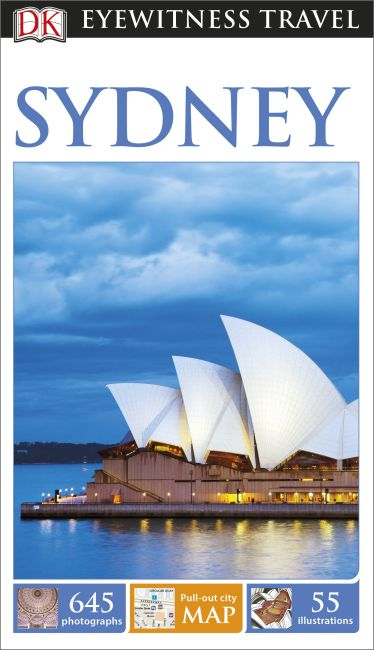 Paperback cover of DK Eyewitness Sydney Travel Guide