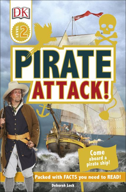 Paperback cover of DK Readers L2: Pirate Attack!
