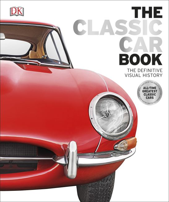 Hardback cover of The Classic Car Book