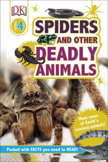 Hardback cover of Spiders and Other Deadly Animals