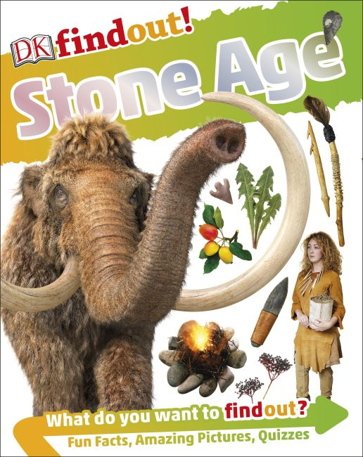Paperback cover of DKfindout! Stone Age